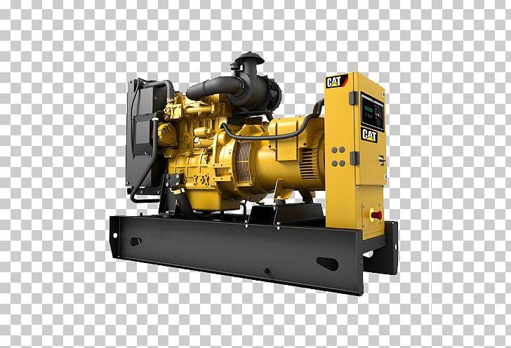 Caterpillar Inc. Diesel Generator Engine.
