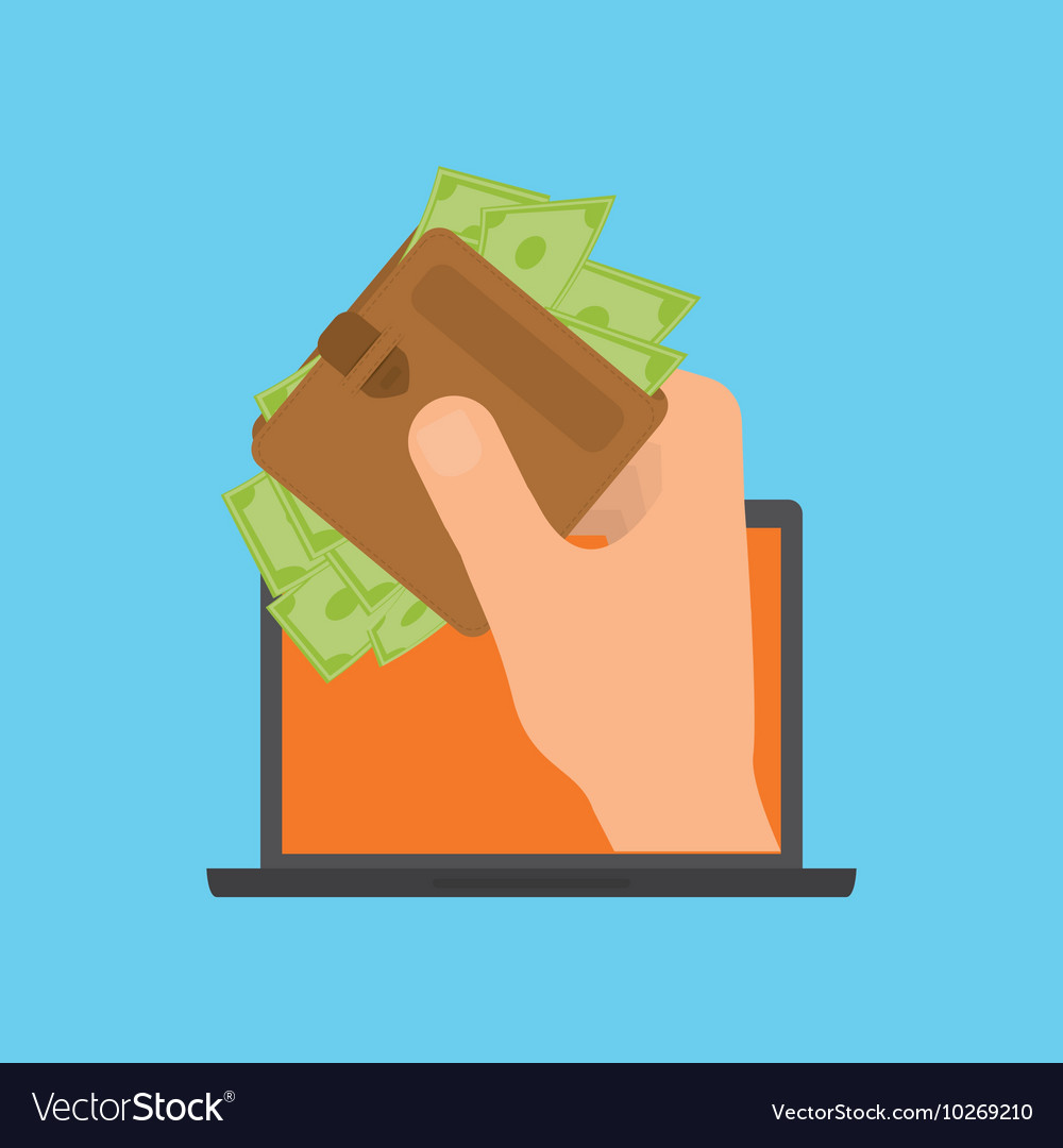 Online payment shopping ecommerce.