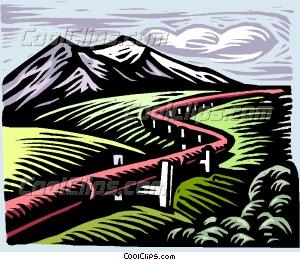 gas pipeline Vector Clip art.
