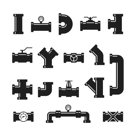 Steel pipe connector, fittings, valves, industrial plumbing.