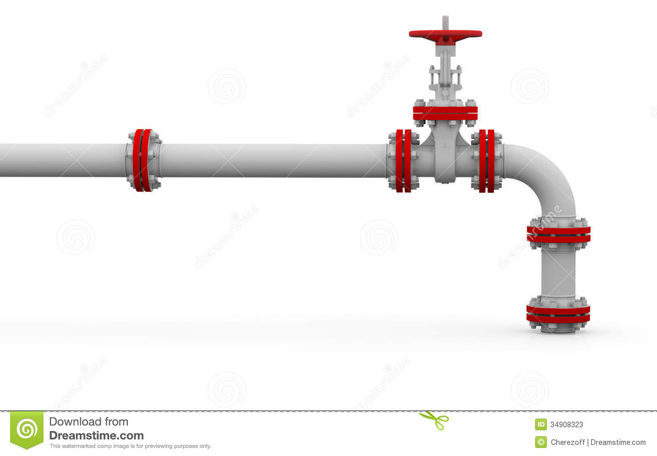 Natural gas pipeline clipart.