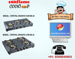 sunflame gas stove, cooktops online shopping.