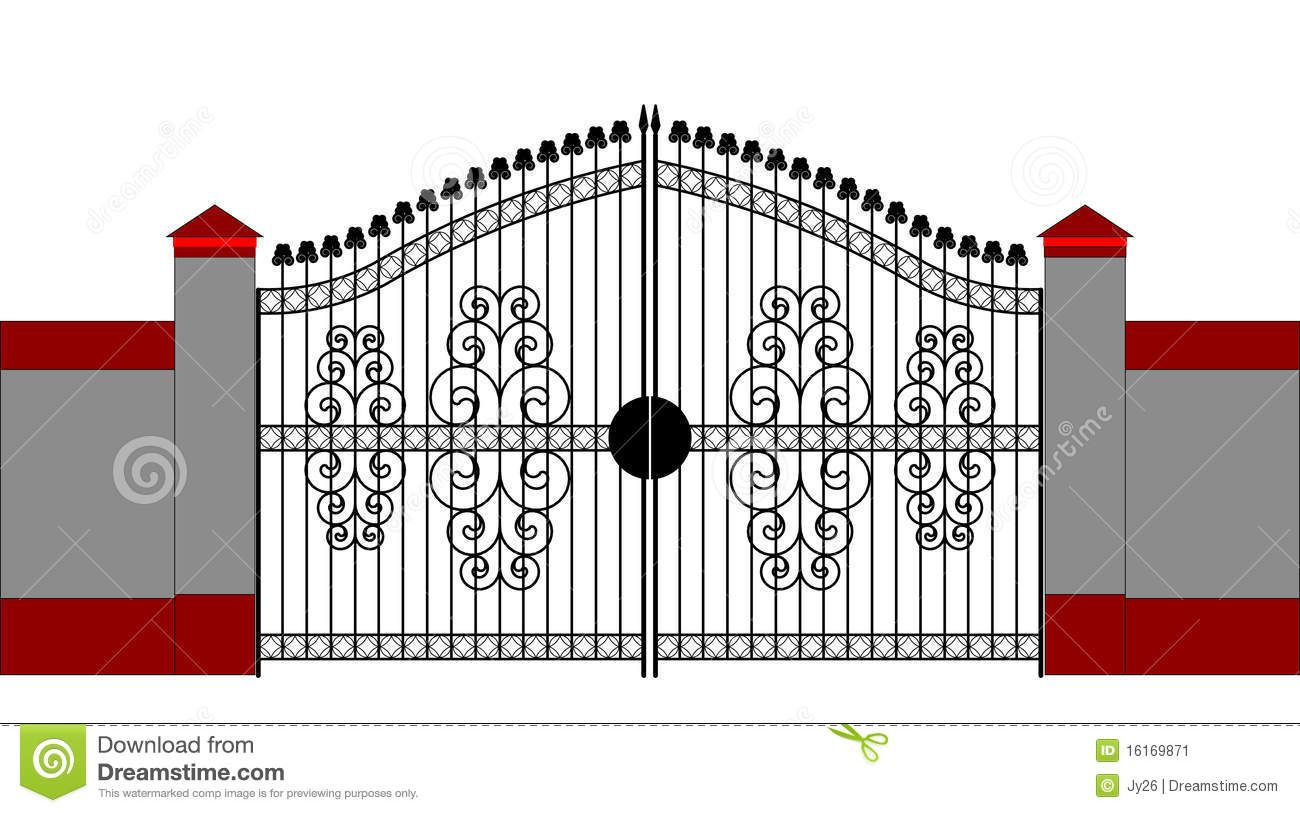 Gate House Clipart in 2019.