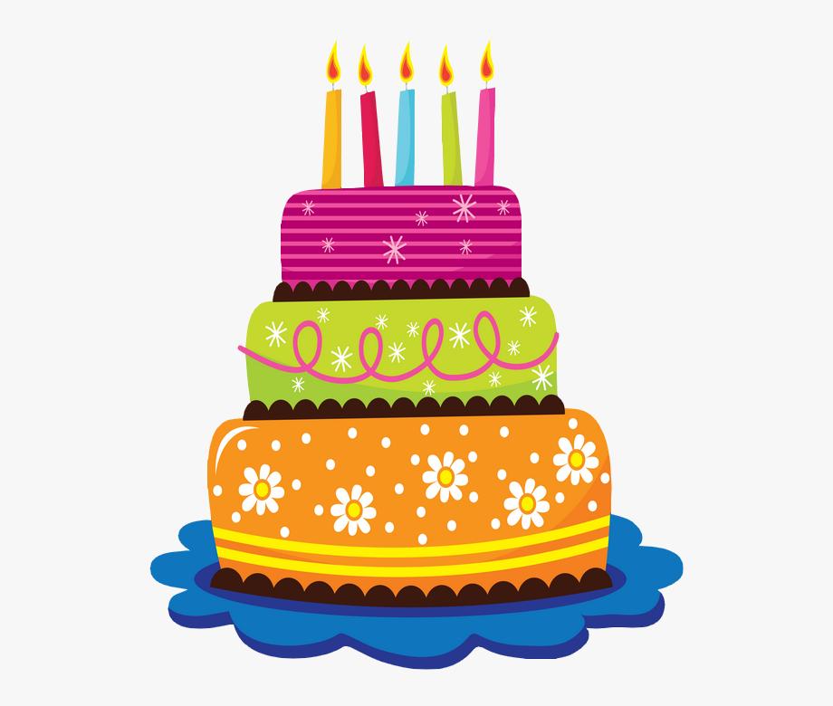 Gâteau D\'anniversaire Avec Bougies.
