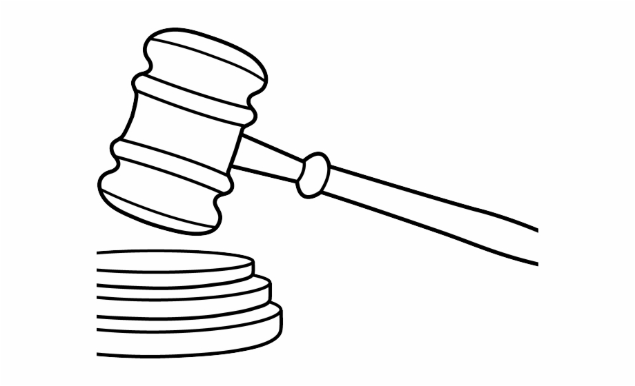 Court Gavel Cliparts.