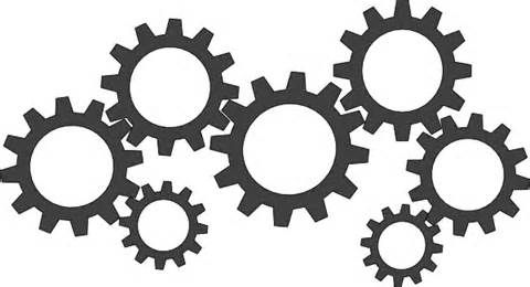 Gears Clocks Cogs Coloring Coloring Pages.