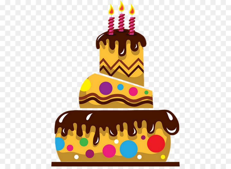 Geburtstag Kuchen Torte clipart.