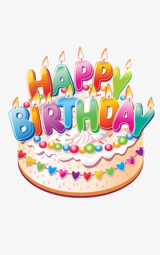 Birthday Clipart Cake Happy Cartoon Gorgeous Newest 1 www.
