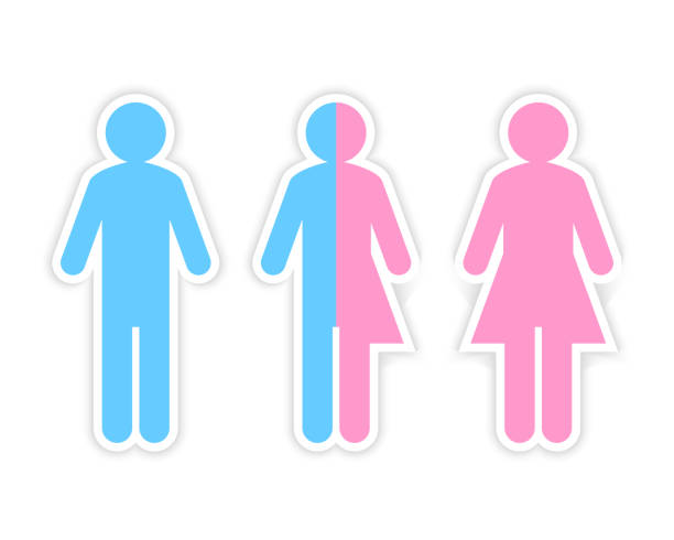 Best Gender Symbol Illustrations, Royalty.