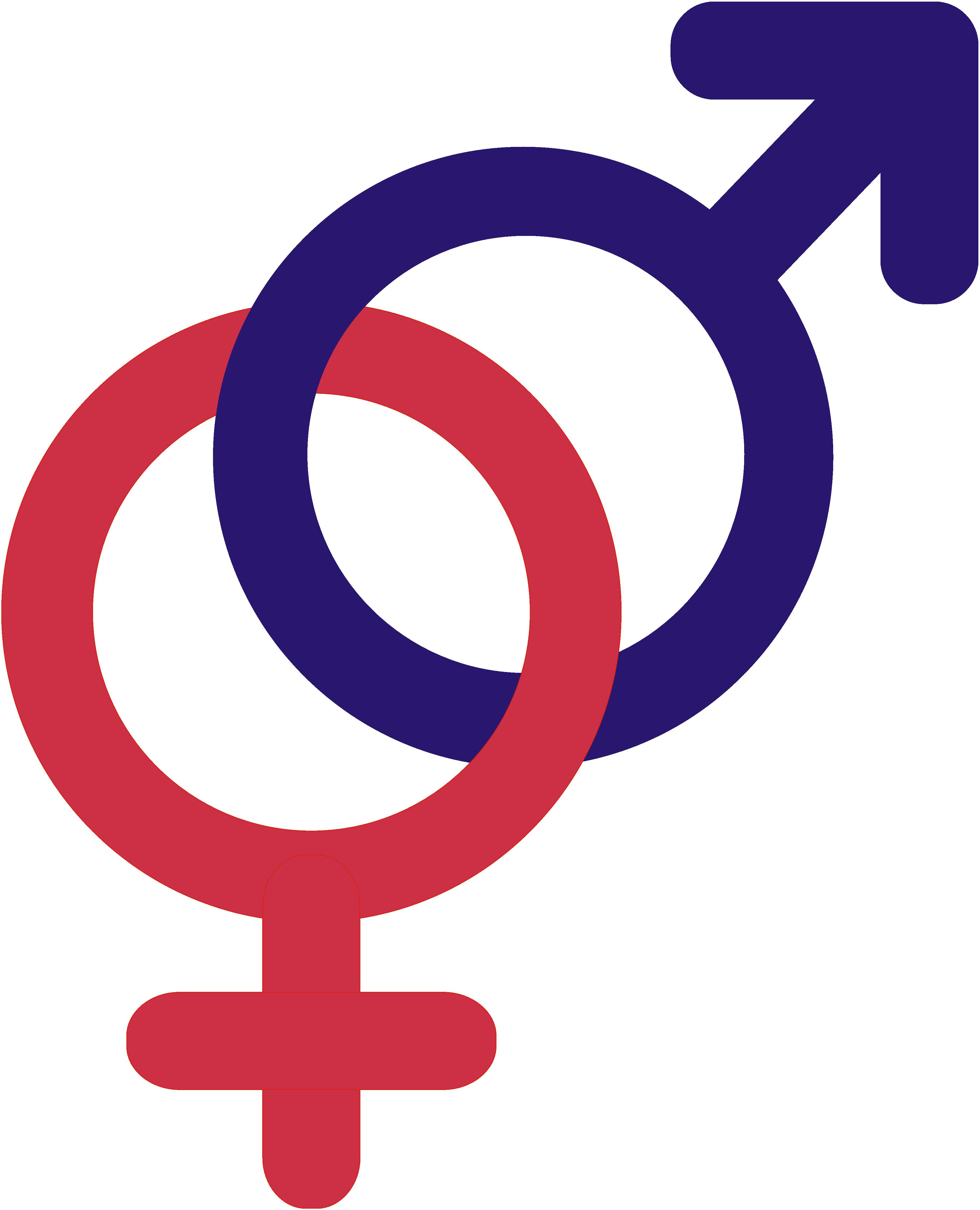 Venus Gender symbol Female.