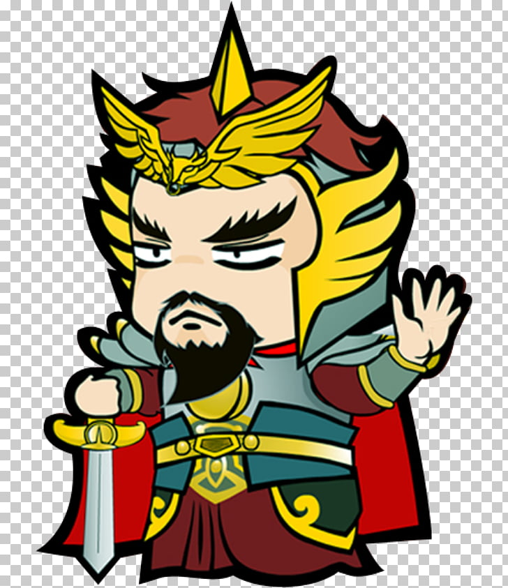 Cartoon , Samurai General PNG clipart.