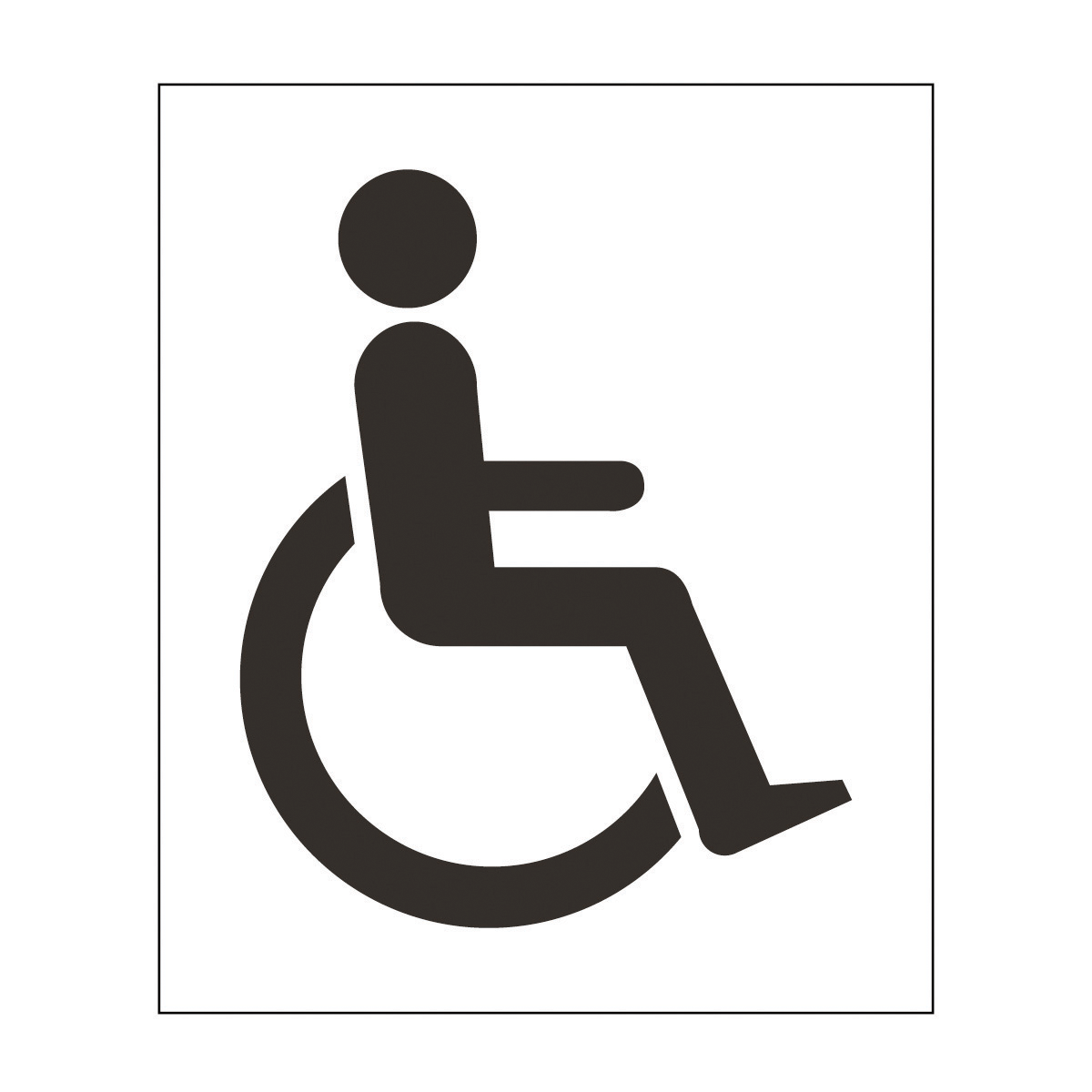 Disabled Symbol Safety Signs.