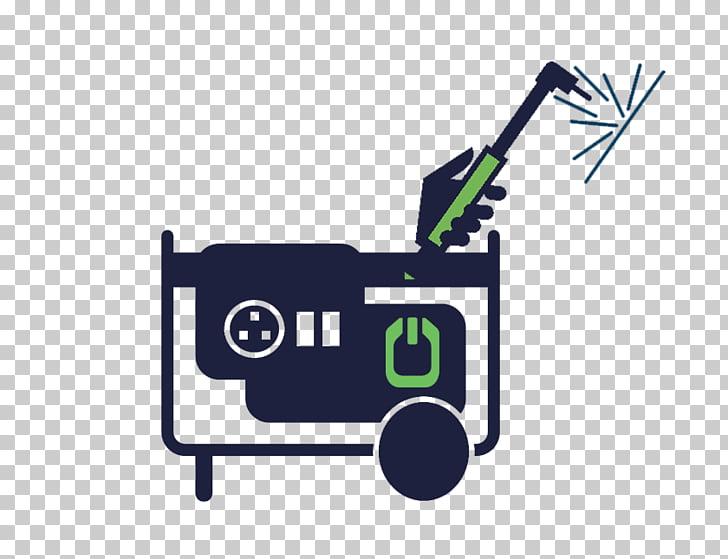 Electric generator Logo Diesel generator Welding Welder.