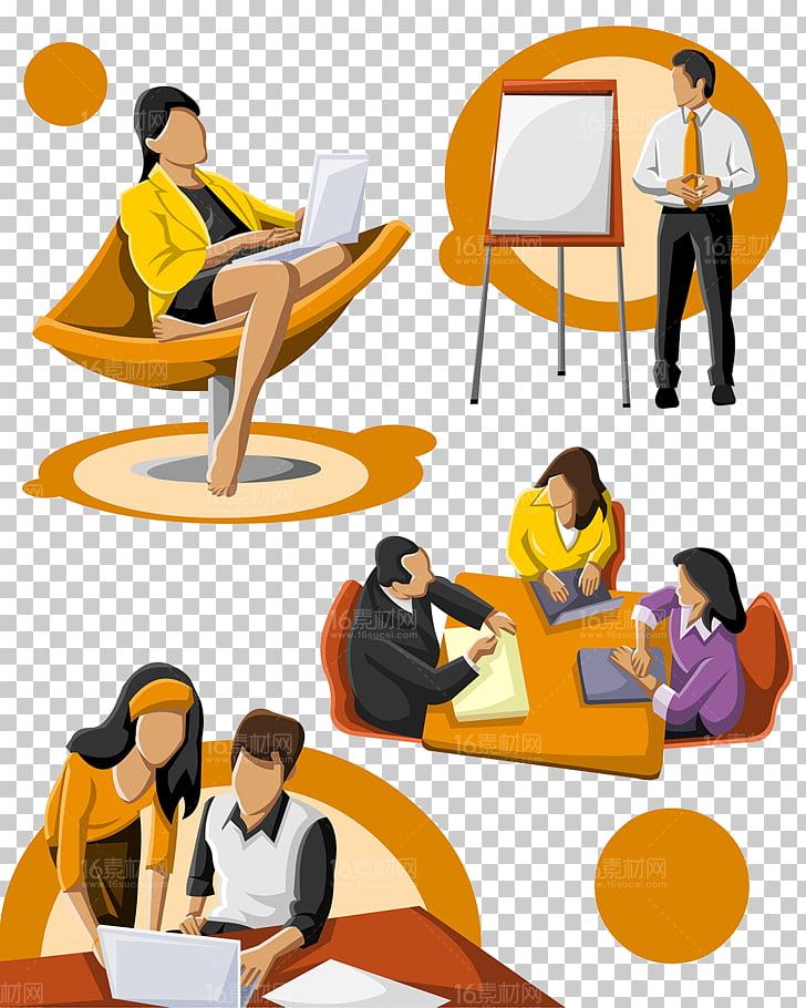 Ilustración animada de dessin anime 9 trabajo, material de.