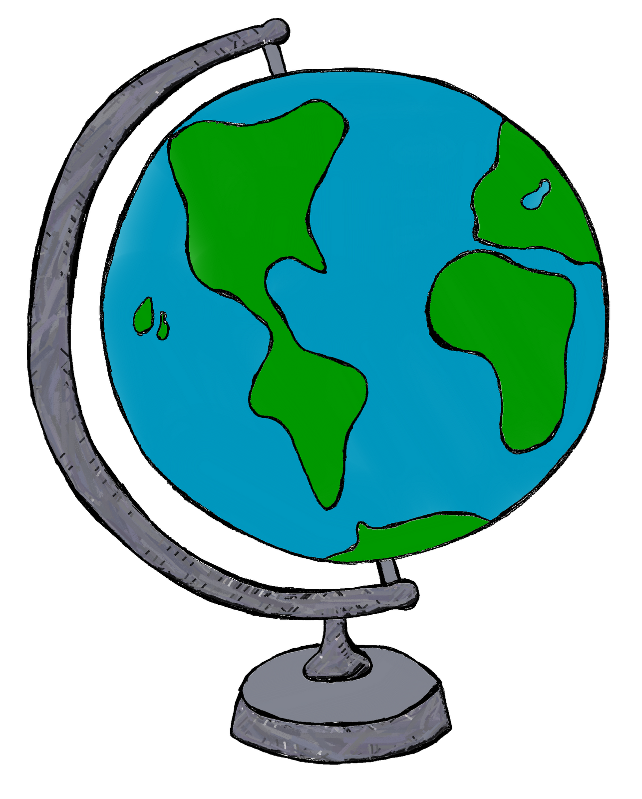 Geography Clipart Globe.