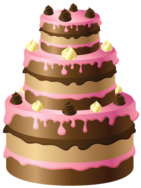 Chocolate Cake Clipart Transparent Background.