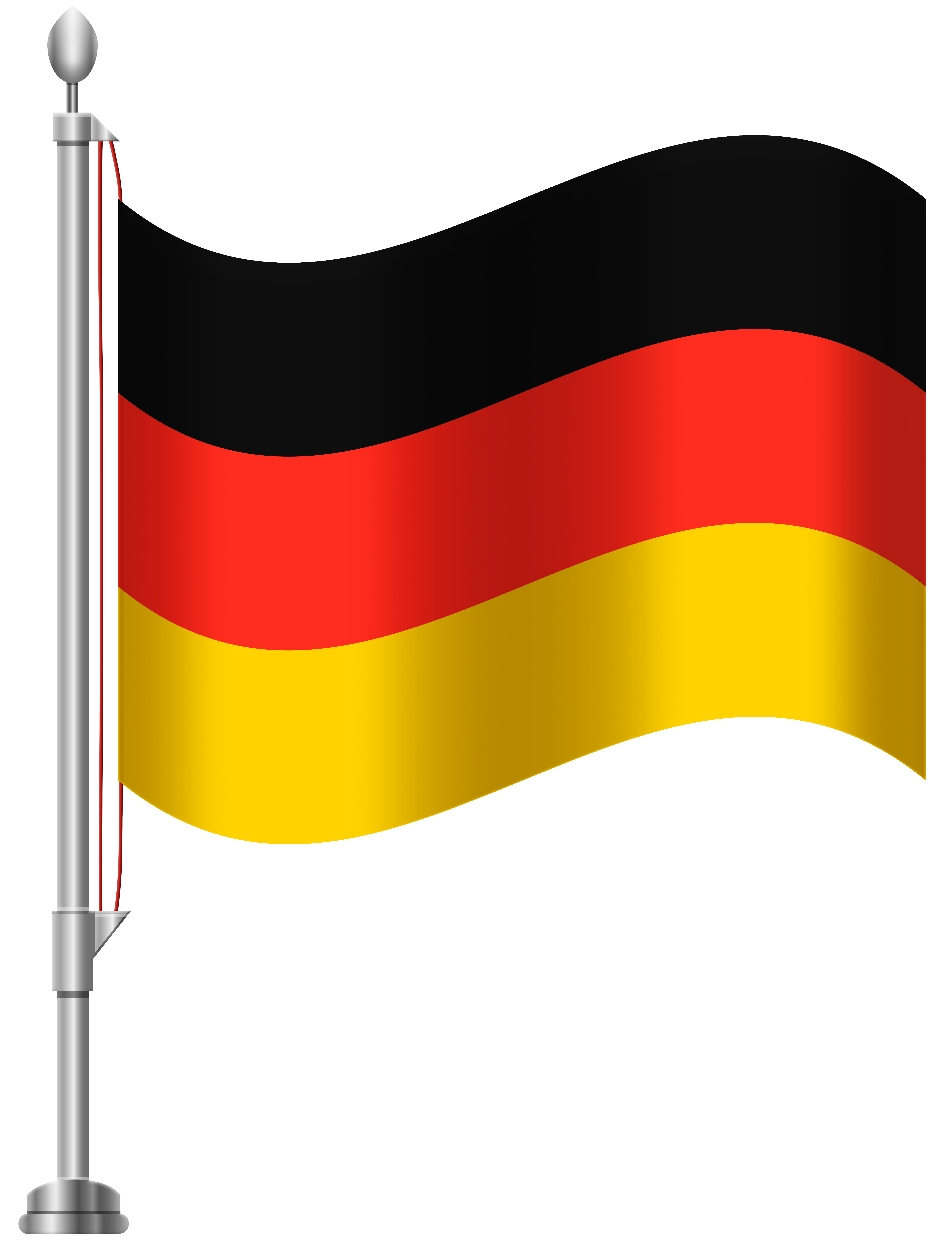 Germany Flag PNG Clip Art.