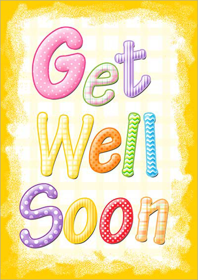 Get well card clipart 4 » Clipart Station.