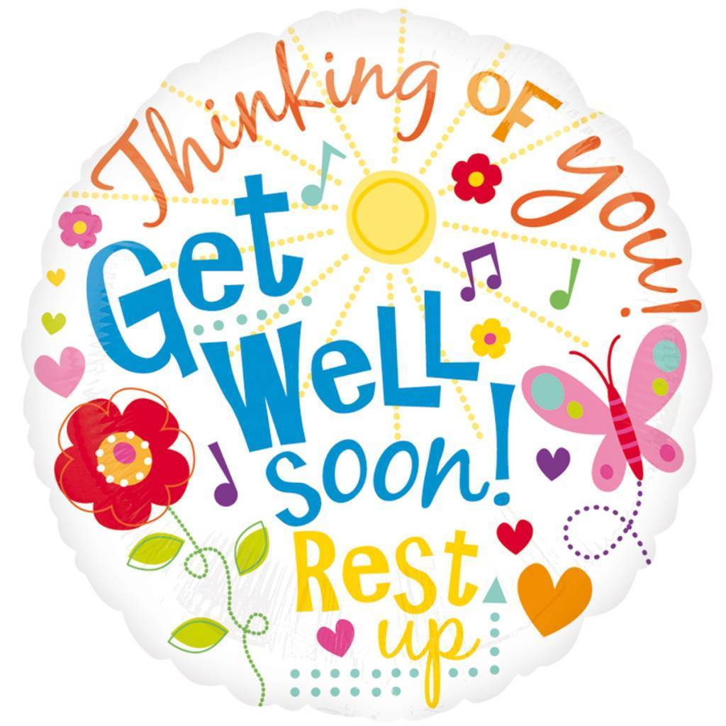 Clipart Get Well Wishes.