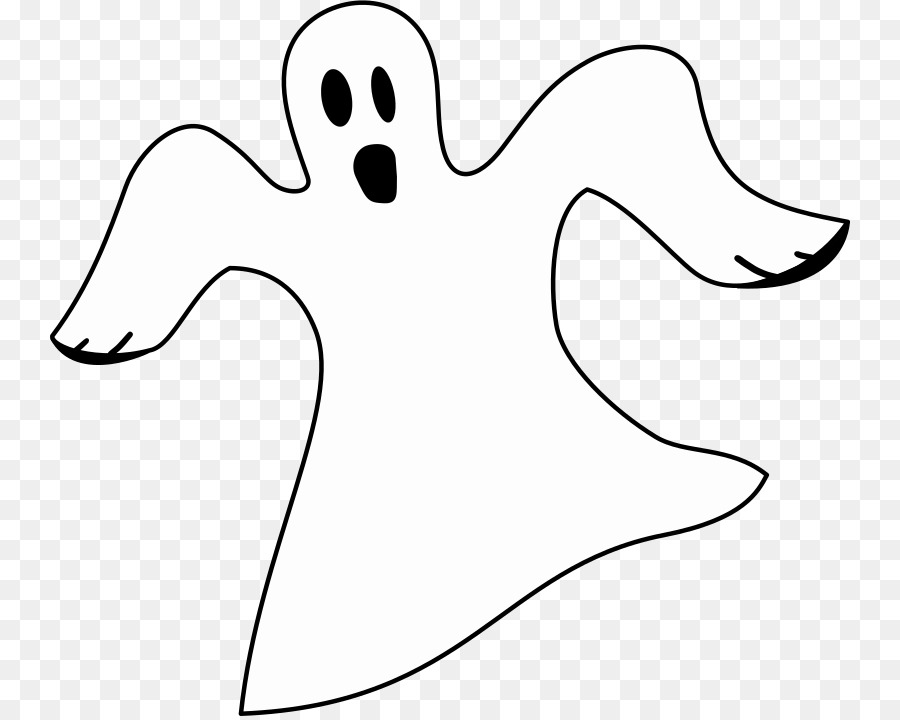 Ghost Black and white Clip art.