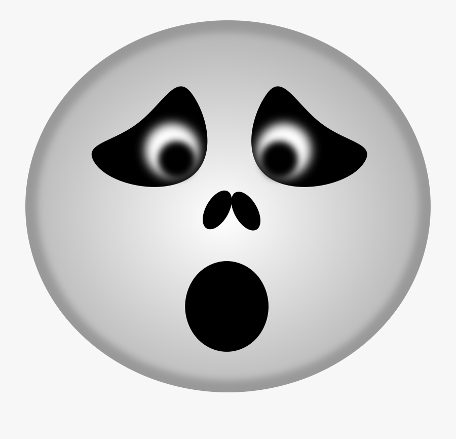 Cute Ghost Faces Clipart.