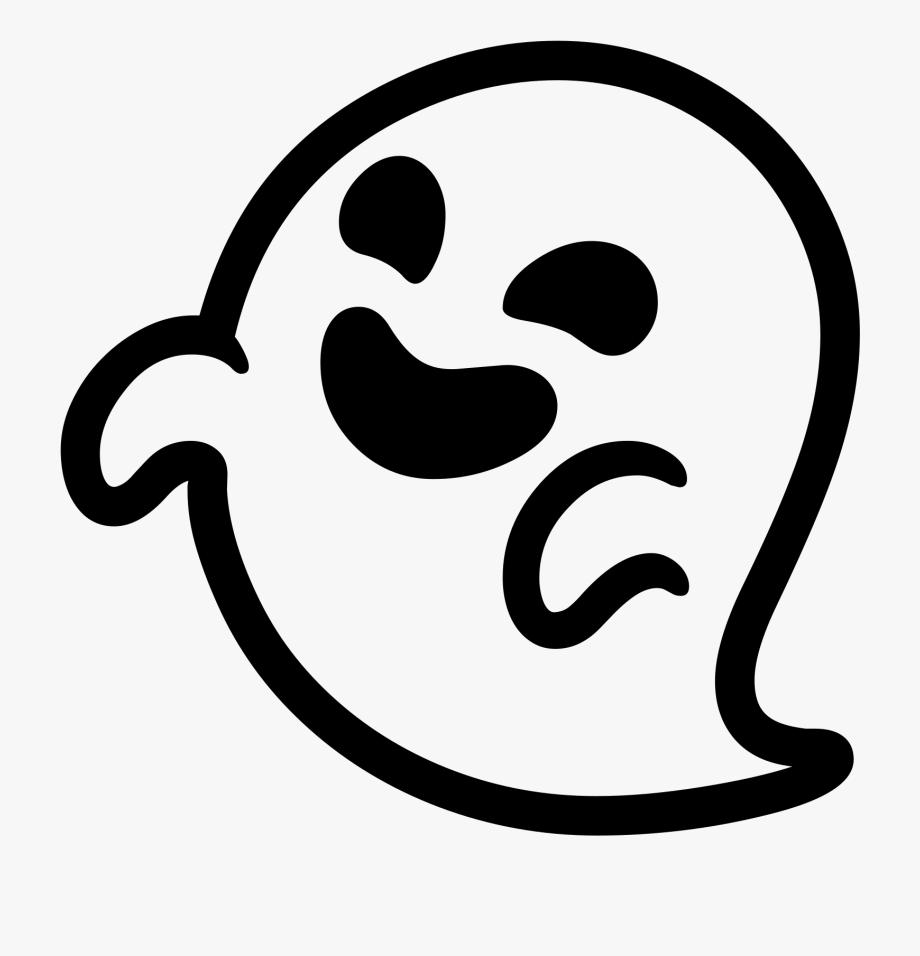 Emoji Clipart Ghost.