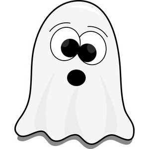Clipart Halloween Ghost.