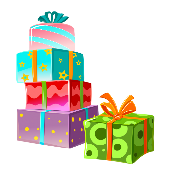 Gift Clipart PNG.