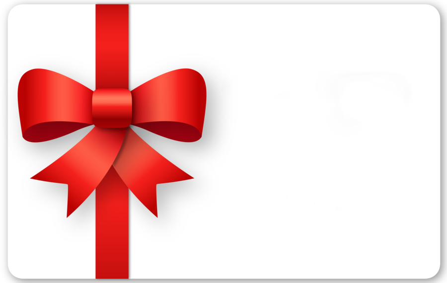 Gift Card Ribbon clipart.