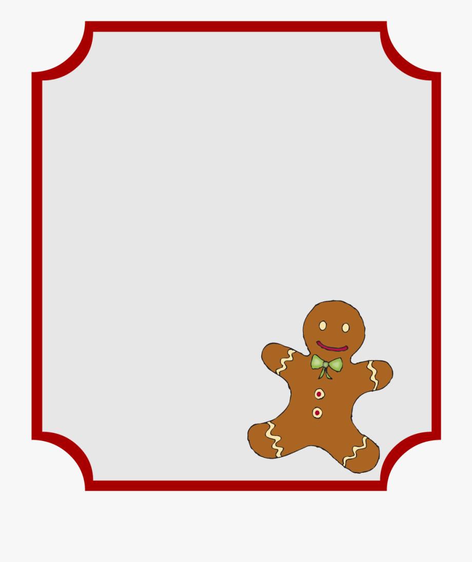 Christmas Gift Tag Clipart.