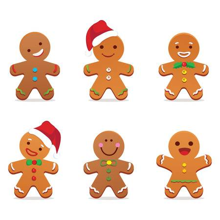 8,643 Gingerbread Man Stock Vector Illustration And Royalty Free.