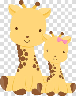 Girafa transparent background PNG cliparts free download.