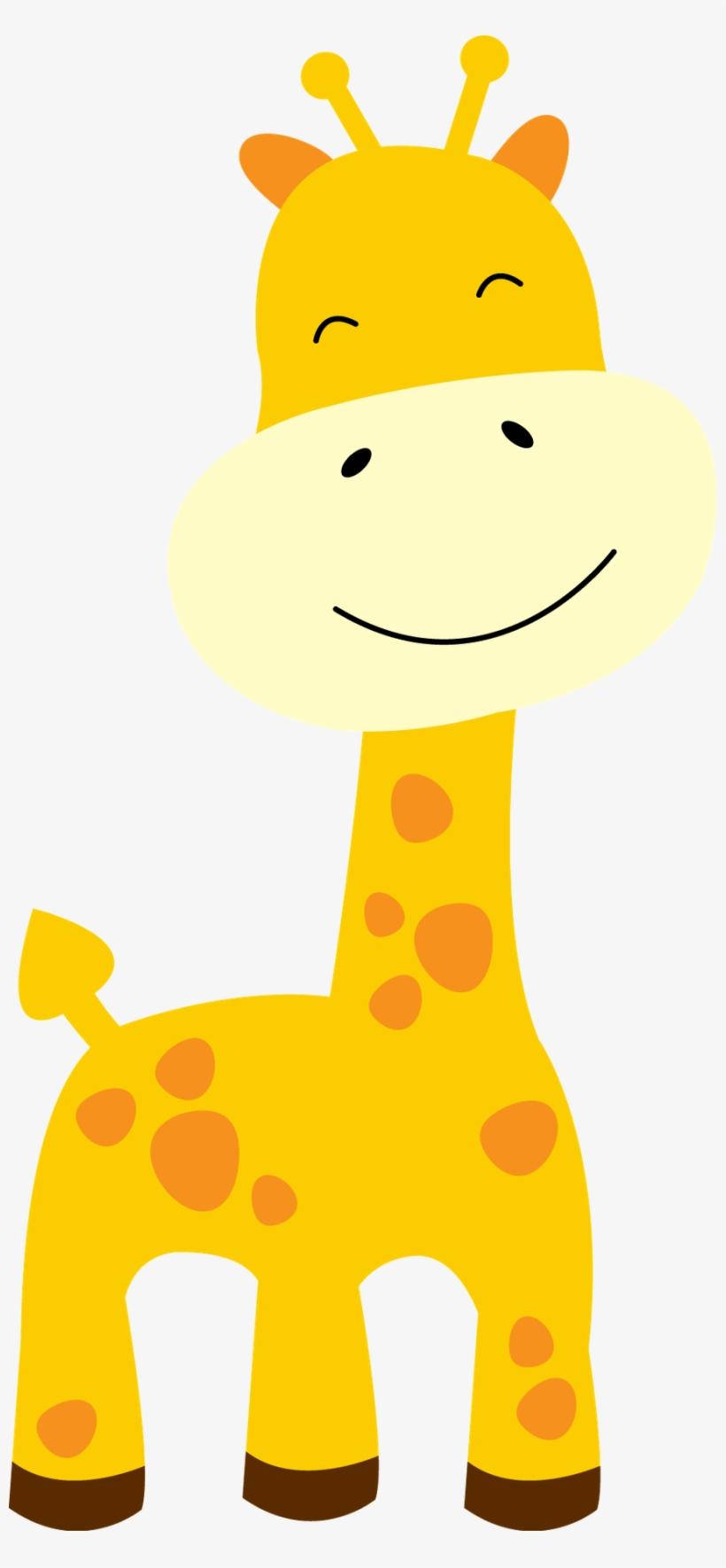 Baby Giraffes Clip Art.