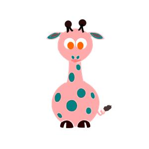 la girafa clipart, cliparts of la girafa free download (wmf.