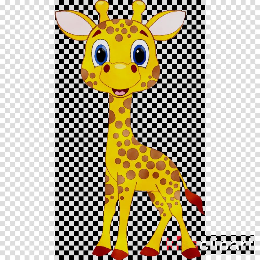 Giraffe Cartoon clipart.