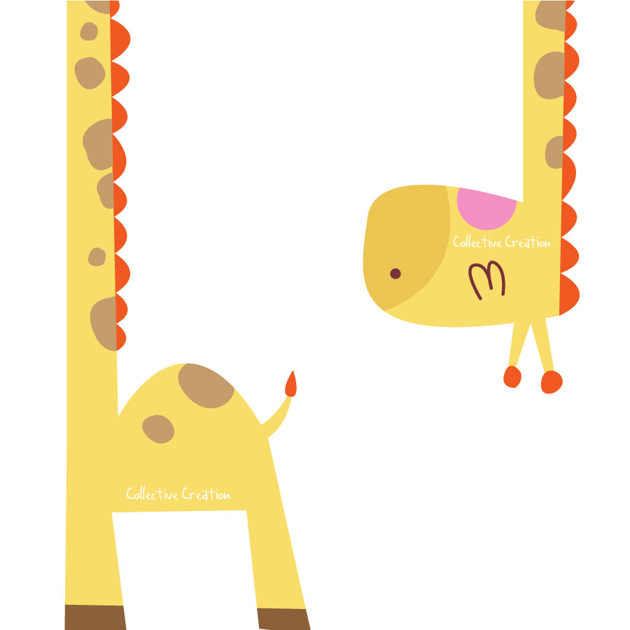 Free giraffe clipart clip art pictures graphics illustrations.