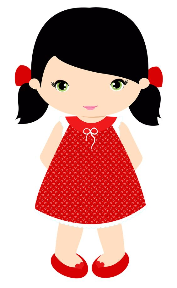 Picture Of Little Girl Clipart.