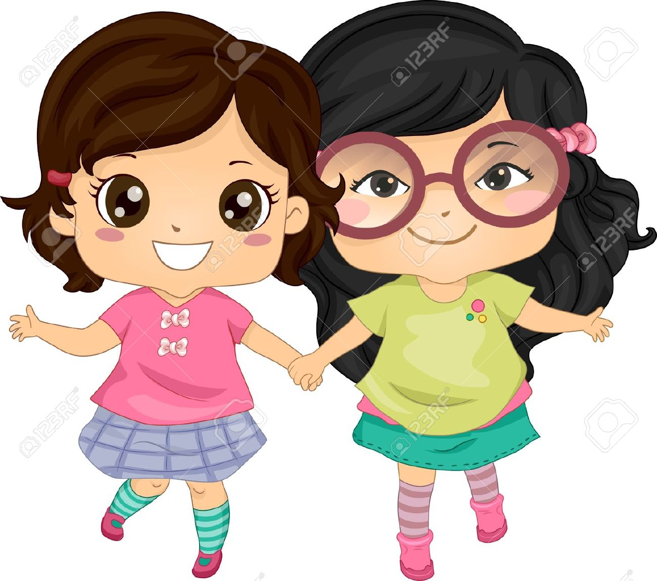 1,577 Girls Best Friend Stock Vector Illustration And Royalty Free.
