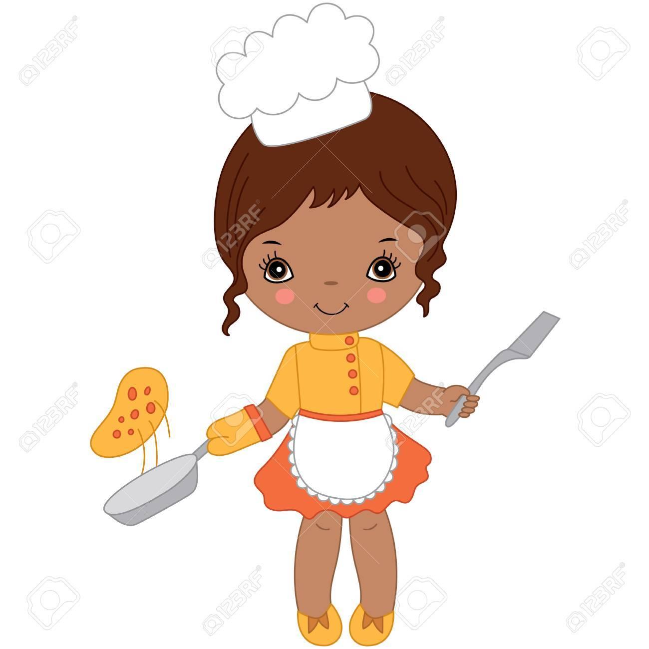Girl chef clipart 1 » Clipart Portal.
