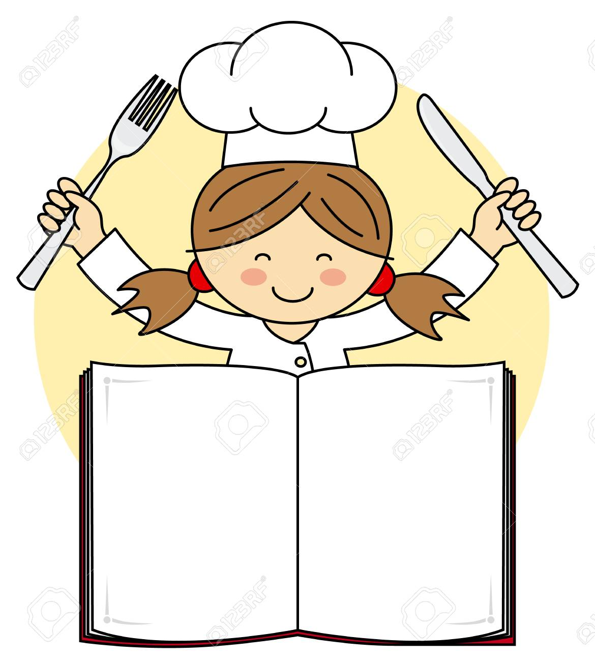 Chef girl clipart 7 » Clipart Station.