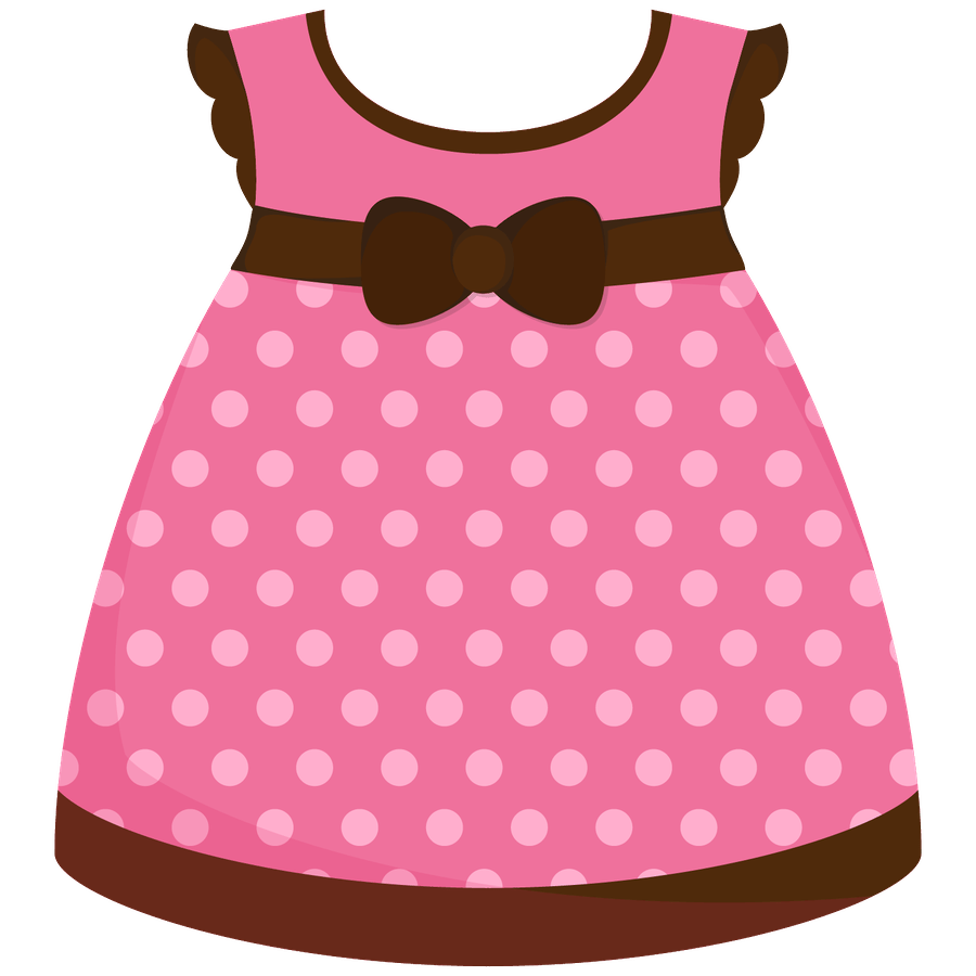 Y Baby Girl Clipart Clothes Outline.