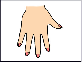 Girl hand clipart Transparent pictures on F.