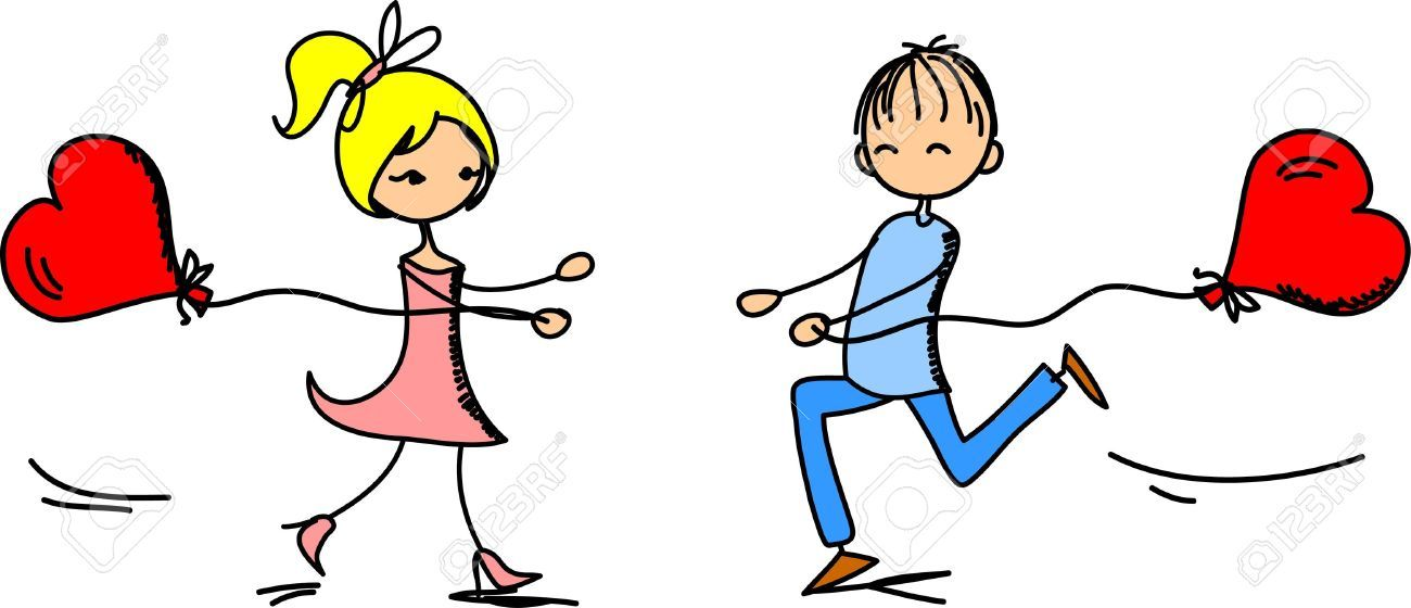 Boy and girl love clipart 6 » Clipart Portal.