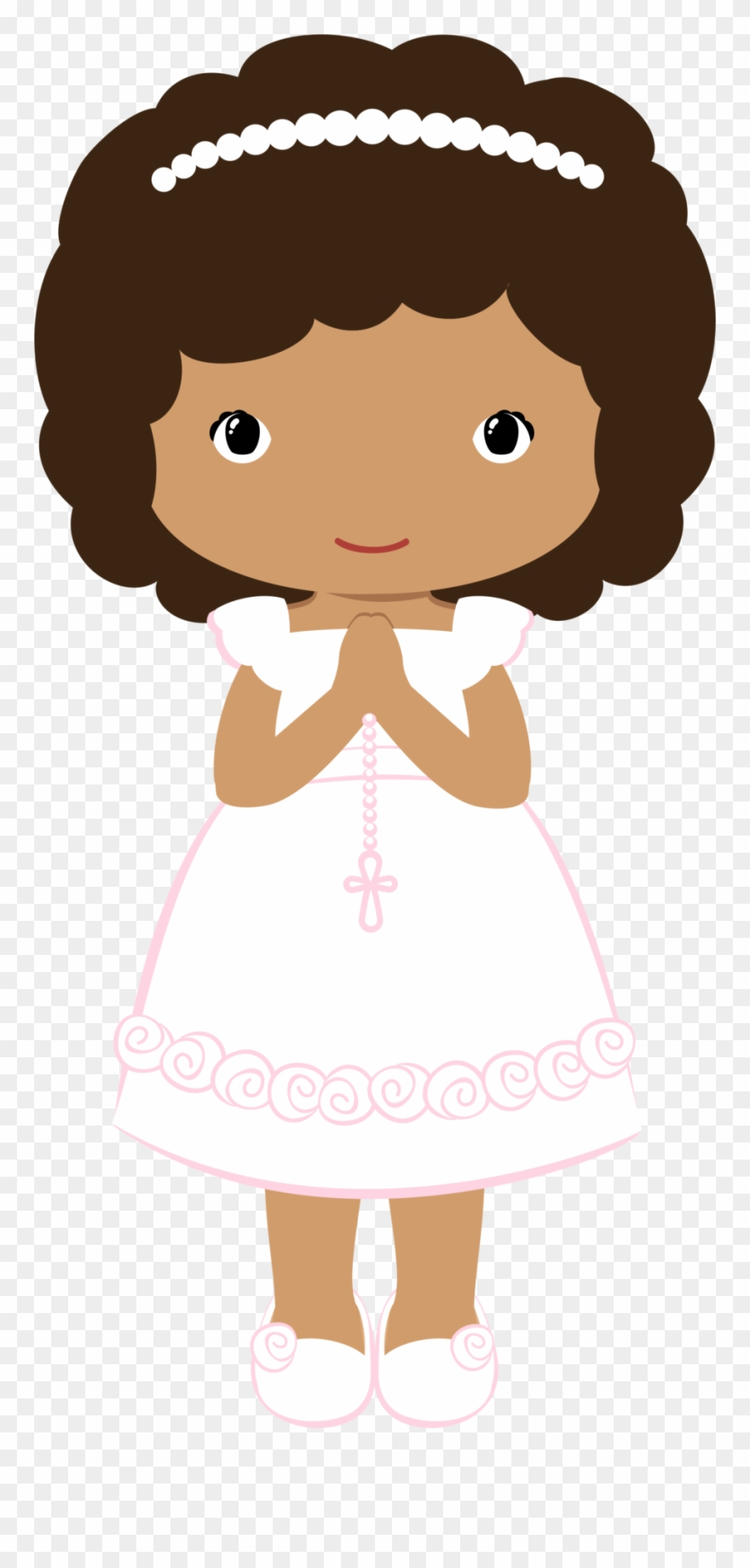 Clipart Girl First Communion.