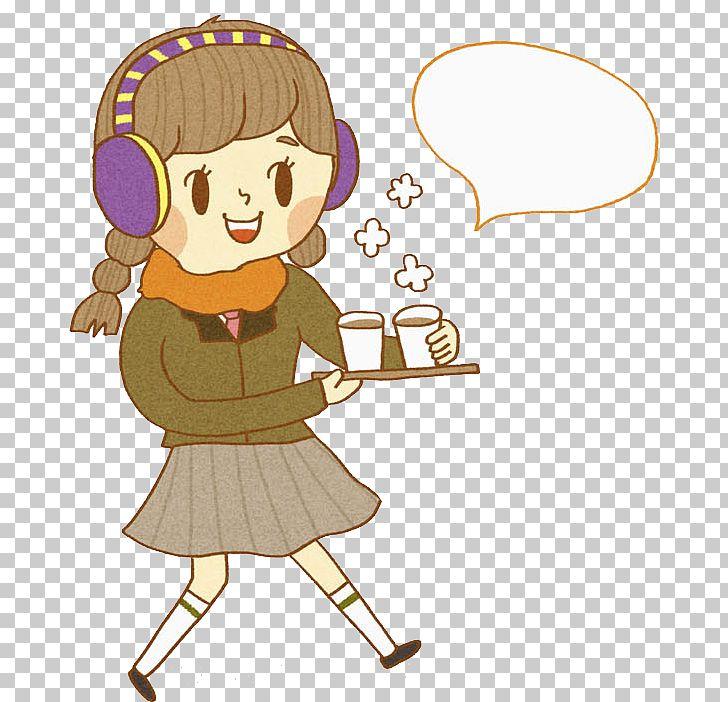 Coffee Girl PNG, Clipart, Art, Cartoon, Child, Clip Art.