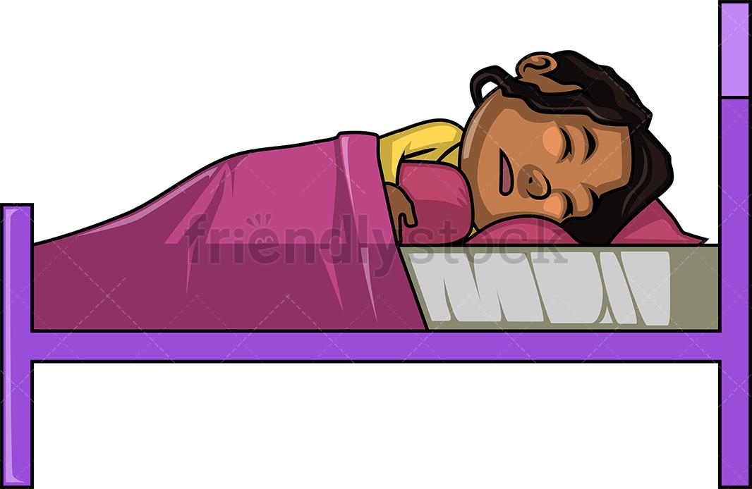 Black Girl Sleeping.