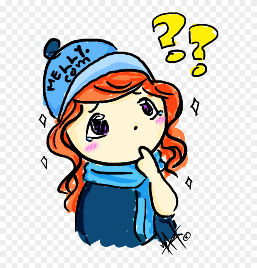 Thinking Melly By Yobutakei On Clipart Library.