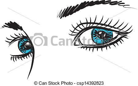 Blue eyes Clip Art Vector Graphics. 15,640 Blue eyes EPS clipart.