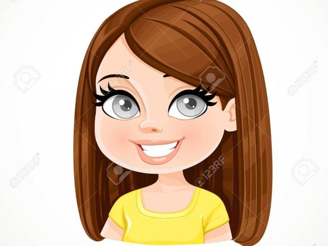 Free Brown Hair Clipart, Download Free Clip Art on Owips.com.