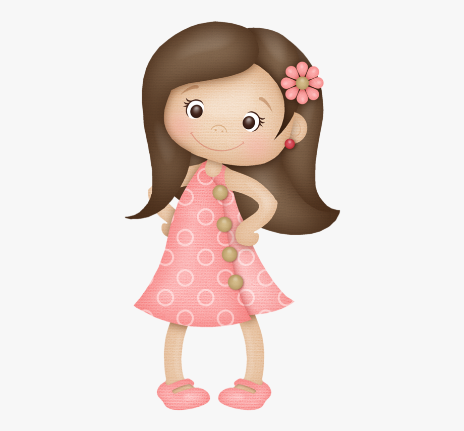 Clipart Girl With Brown Hair, Cliparts & Cartoons.
